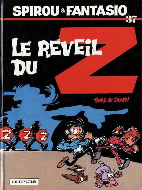 Couverture de Spirou et Fantasio -37- Le réveil du Z