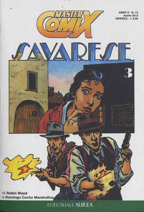 Couverture de Savarese (Mastercomix) -3- Savarese 3