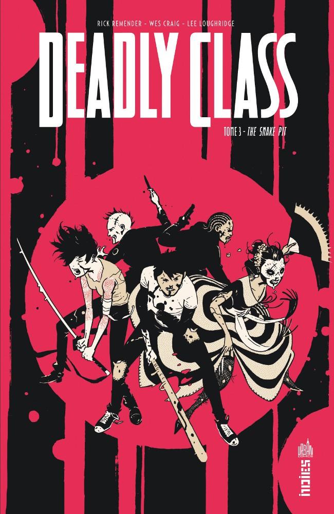 Couverture de Deadly Class -3- The Snake Pit