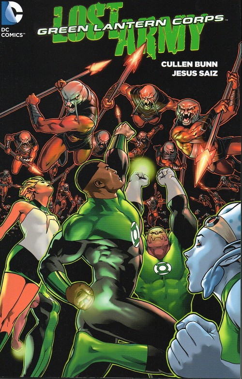 Couverture de Green Lantern: Lost Army (2015) -INT- Lost army