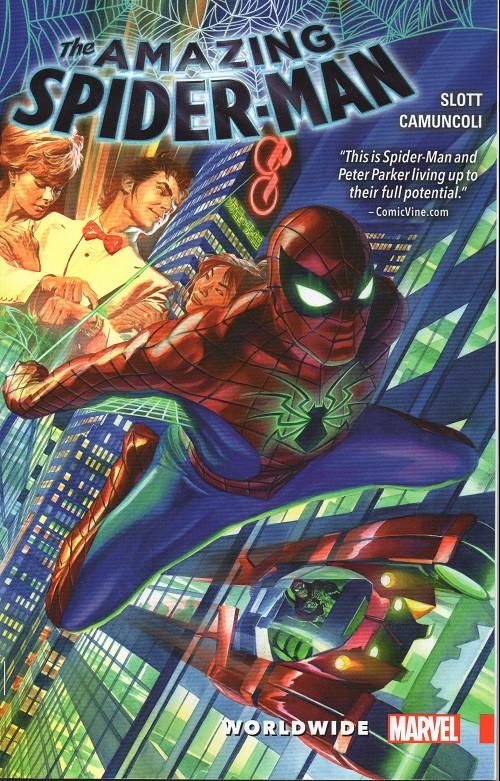 Couverture de Amazing Spider-Man (The) (2015) -INT01- Worldwide