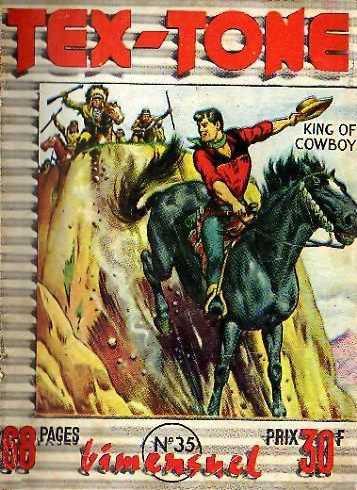 Couverture de Tex-Tone -35- Les indiens voleurs de chevaux