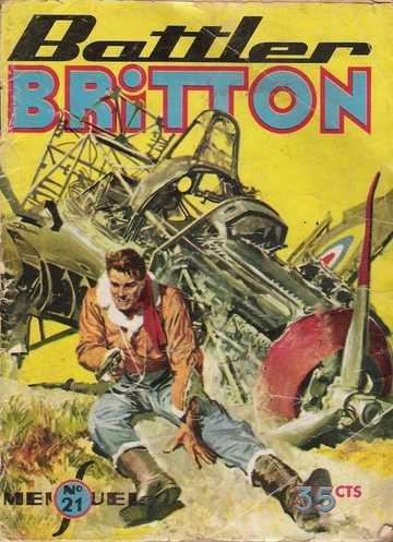 Couverture de Battler Britton -21- Sauvé
