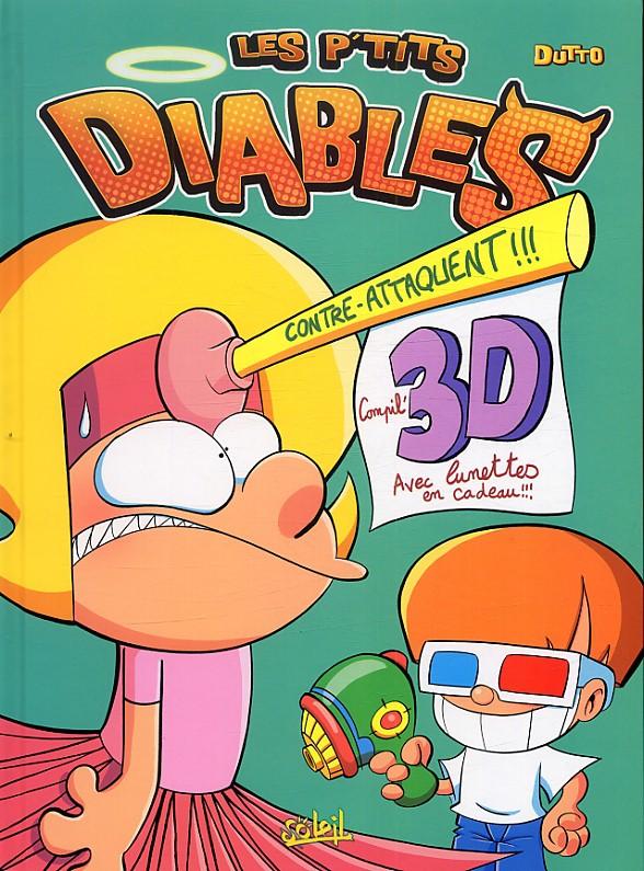 Couverture de Les p'tits diables -3D2- Les p'tits diables contre-attaquent !