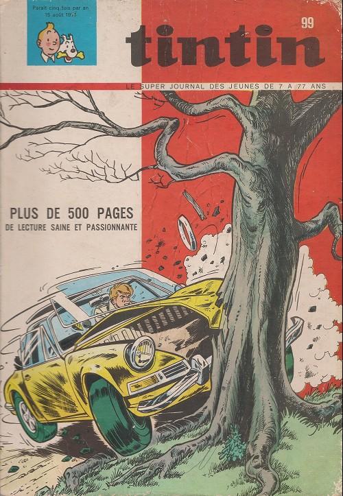 Couverture de (Recueil) Tintin (Album du journal - Édition belge) -99- Album n° 99