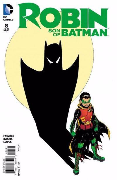 Couverture de Robin: Son of Batman (2015) -8- Heart of Ice