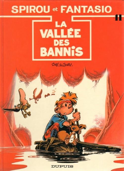 Couverture de Spirou et Fantasio -41- La vallée des bannis