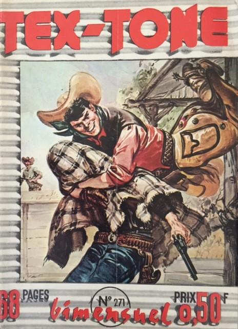 Couverture de Tex-Tone -271- La lettre