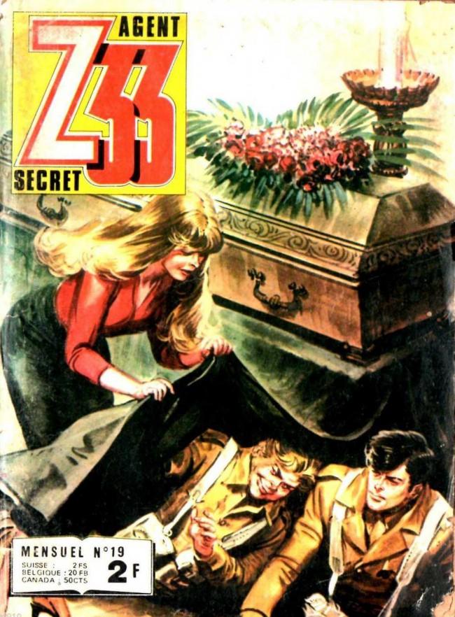 Couverture de Z33 agent secret -19- La trompette du 8e ange