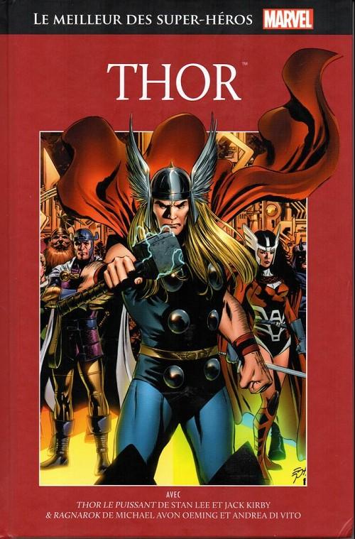 Couverture de Marvel Comics : Le meilleur des Super-Héros - La collection (Hachette) -9- Thor
