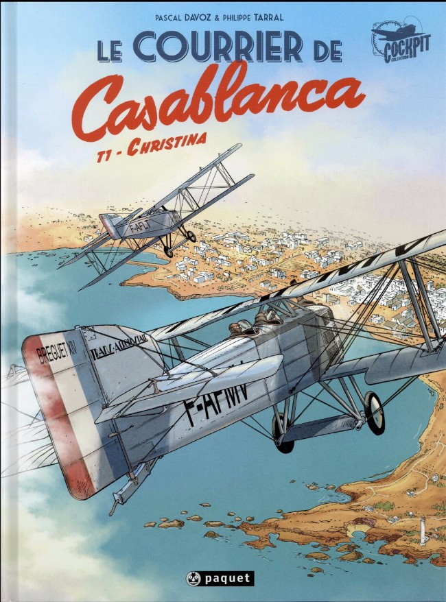 Couverture de Le courrier de Casablanca -1- Christina