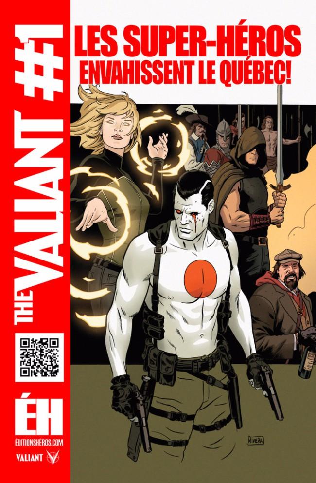 Couverture de The valiant -1- Le commencement 1/4