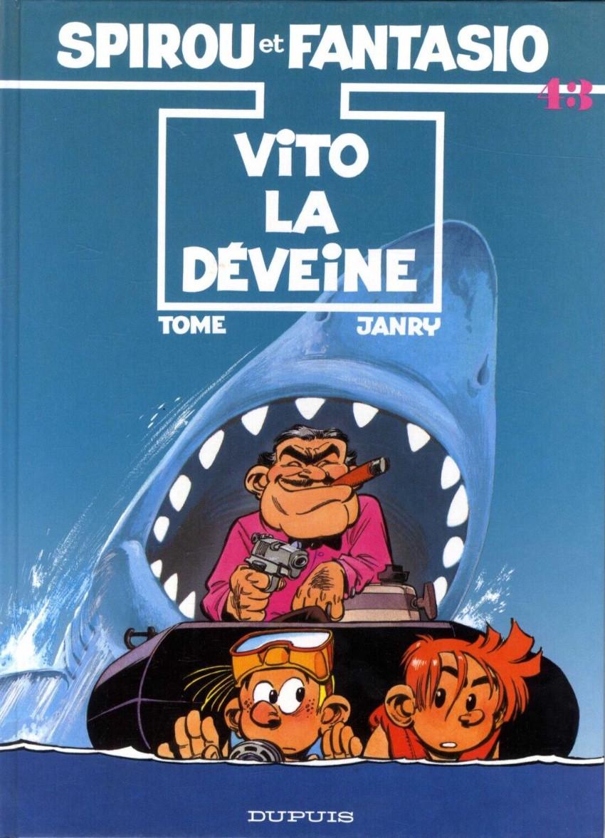Couverture de Spirou et Fantasio -43- Vito la déveine