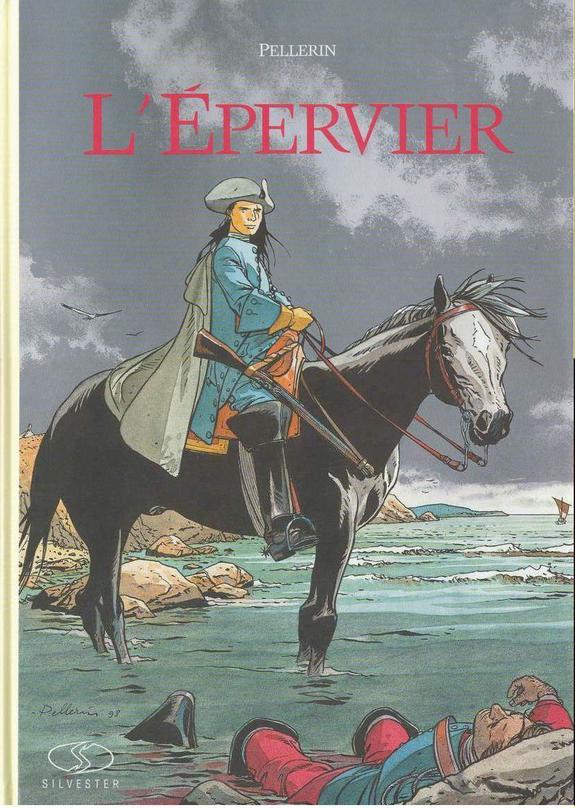 Couverture de L'Épervier (Pellerin) -1TL- 1+2