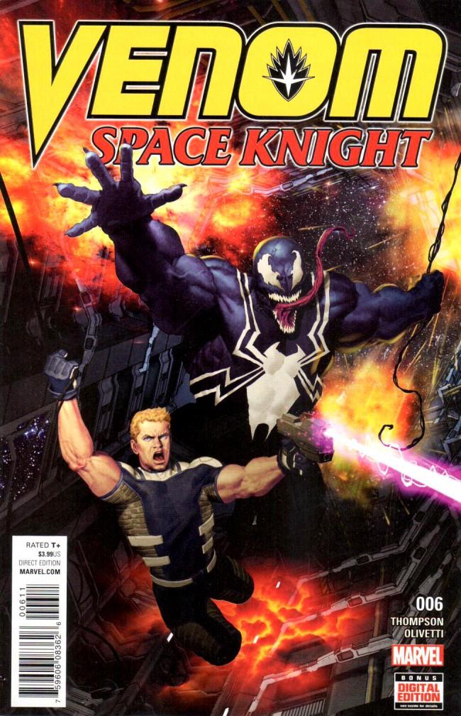 Couverture de Venom: Space Knight (2016) -6- Issue 6