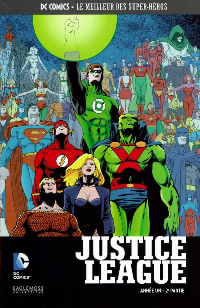 Couverture de DC Comics - Le Meilleur des Super-Héros -19- Justice League - Année Un - 2e partie