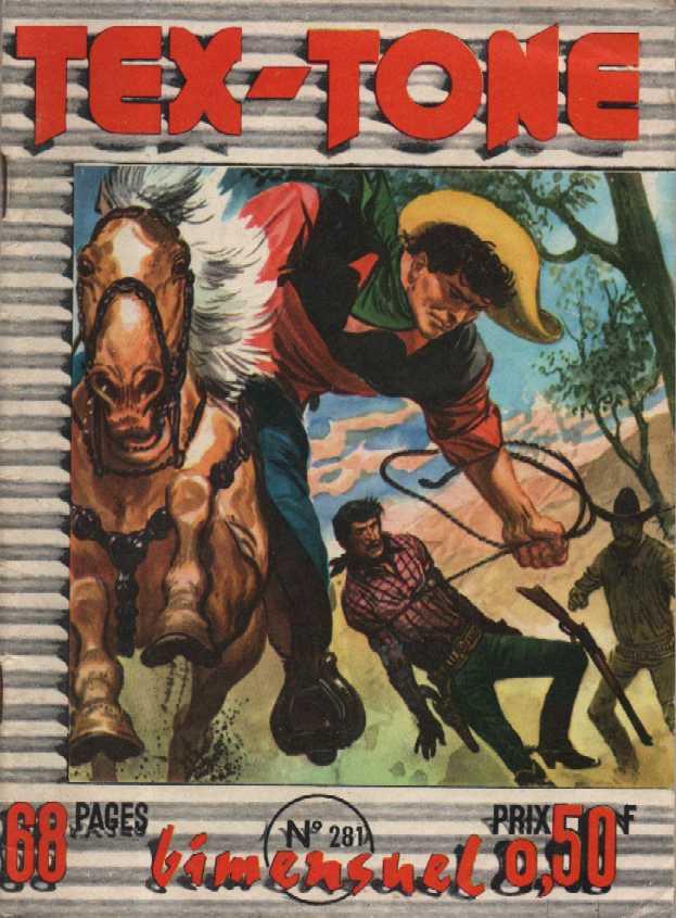 Couverture de Tex-Tone -281- Jeux de mains