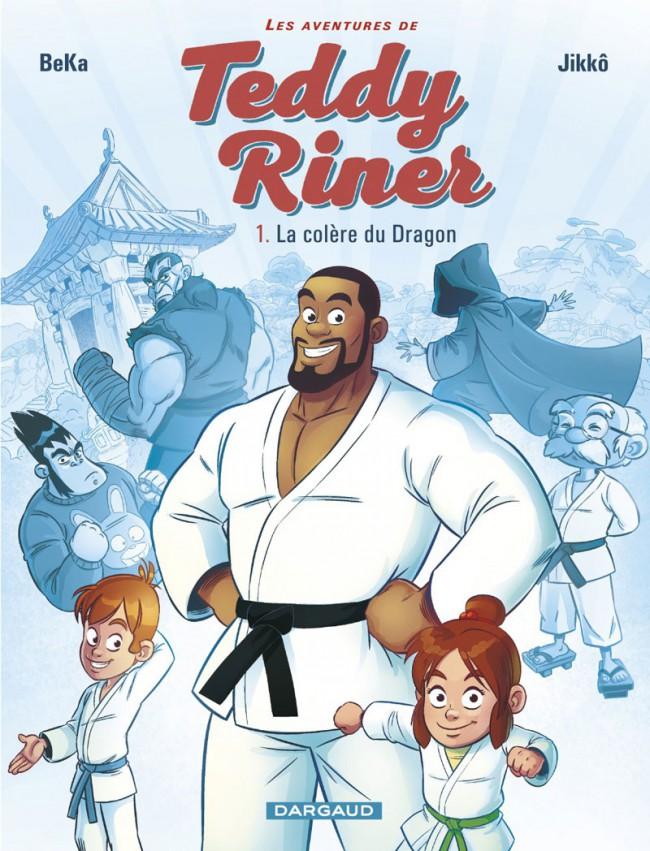 Couverture de Les aventures de Teddy Riner -1- La colère du dragon