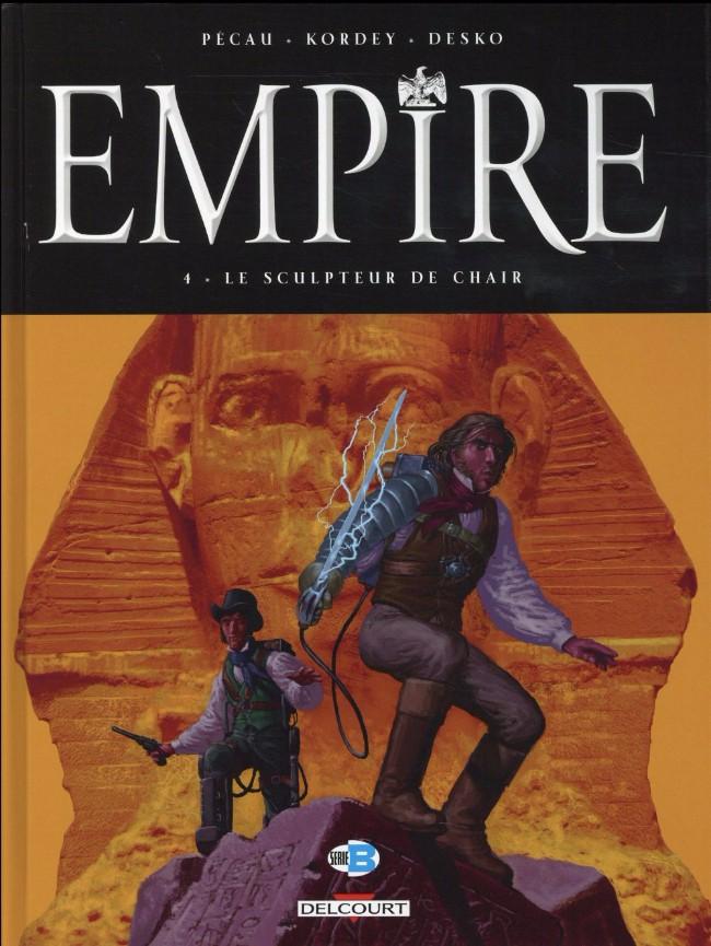 Couverture de Empire (Pécau/Kordey) -4- Le Sculpteur de chair
