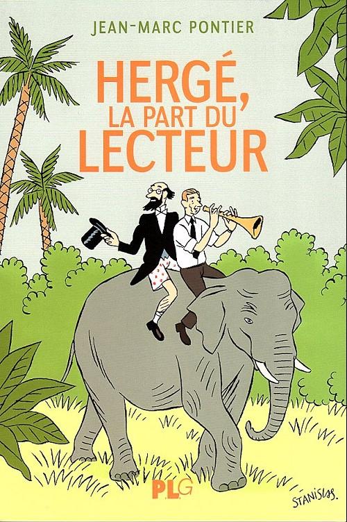 Couverture de (AUT) Hergé -105- Hergé, la part du lecteur