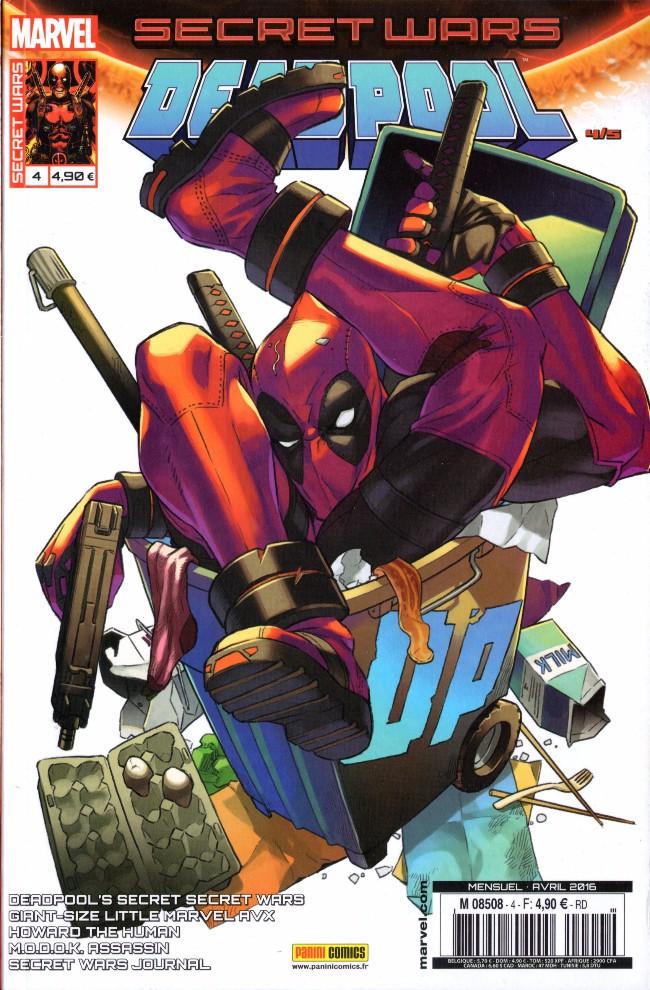 Couverture de Secret Wars : Deadpool -4- La traque