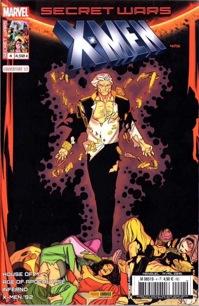 Couverture de Secret Wars : X-Men -41/2- Le meilleur des mondes