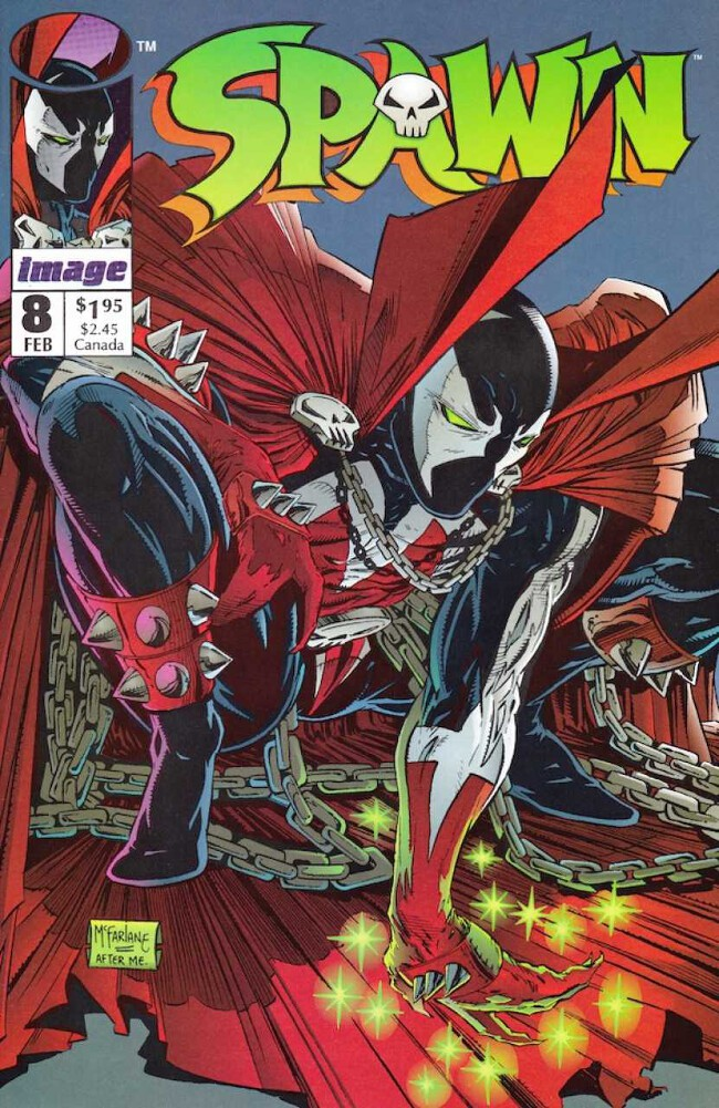 Couverture de Spawn (1992) -8- In Heaven (Everything is Fine)