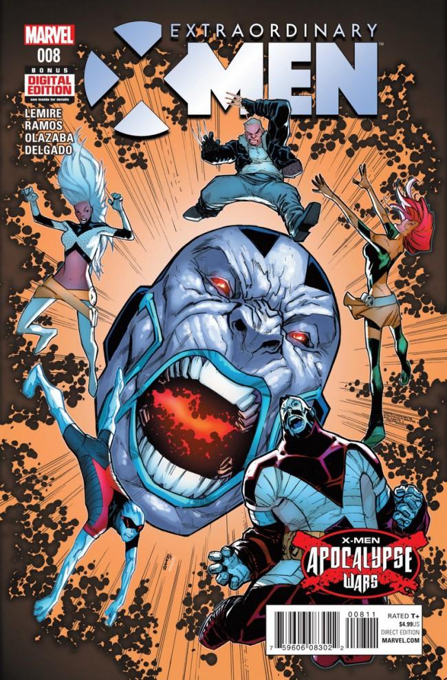 Couverture de Extraordinary X-Men (2016) -8- Extraordinary X-Men #8
