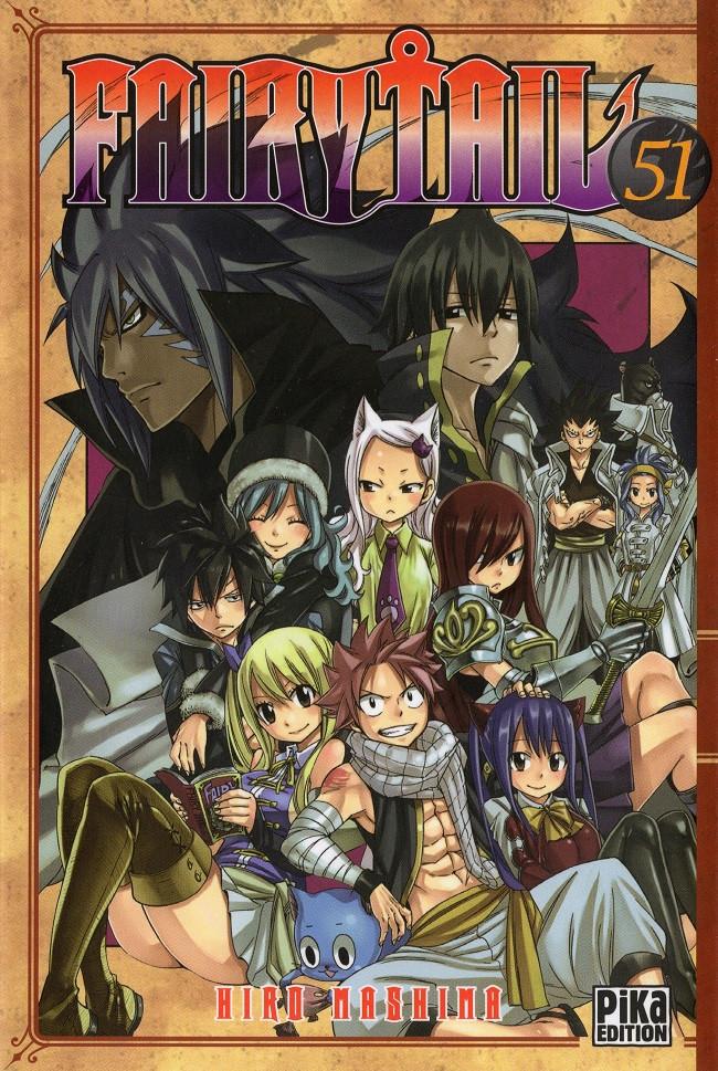 Couverture de Fairy Tail -51- Tome 51