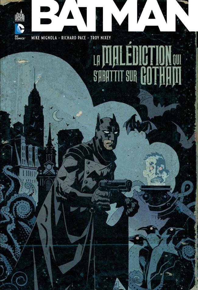 Couverture de Batman : La malédiction qui s'abattit sur Gotham