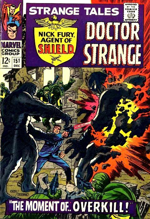 Couverture de Strange Tales (Marvel - 1951) -151-