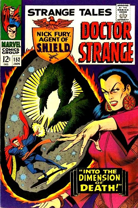 Couverture de Strange Tales (Marvel - 1951) -152- Into the Dimension of Death!