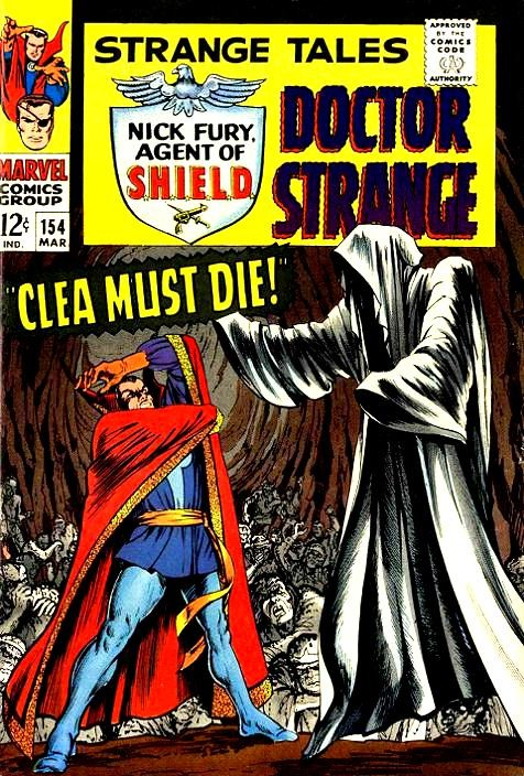 Couverture de Strange Tales (Marvel - 1951) -154- Clea must die!