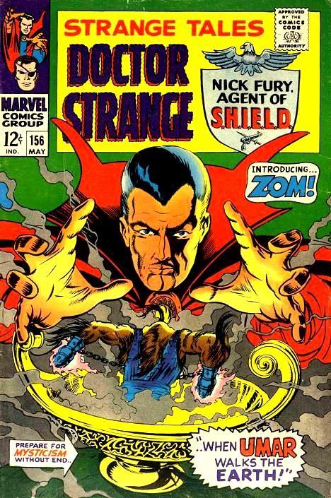 Couverture de Strange Tales (1951) -156-