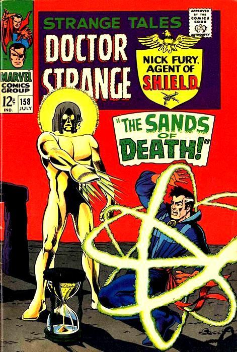 Couverture de Strange Tales (1951) -158-