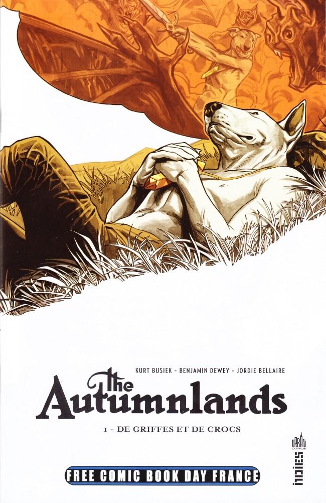 Couverture de Autumnlands (The) -FCBD- De griffes et de crocs - Free Comic Book Day 2016