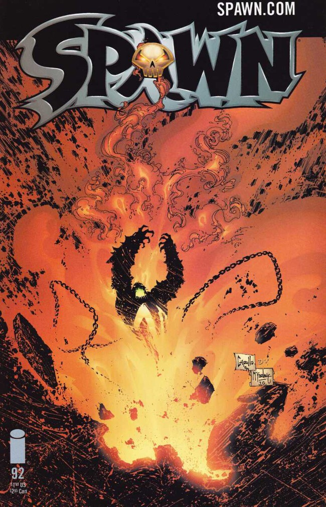 Couverture de Spawn (1992) -92- Black Cat Bones, part 2