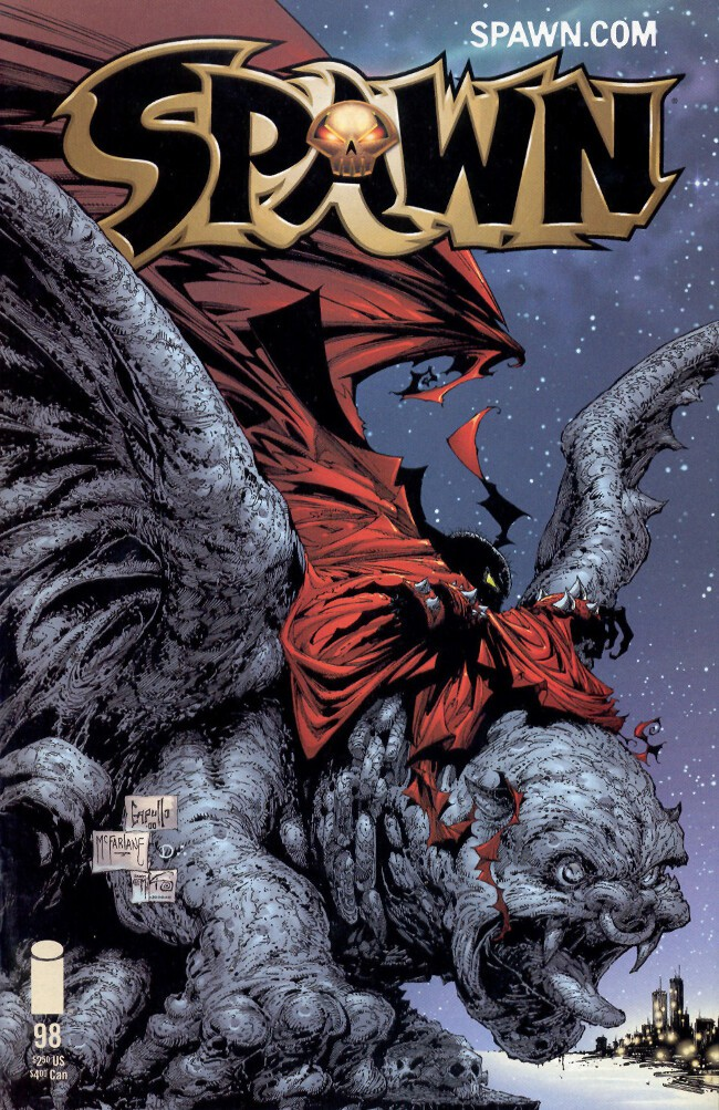 Couverture de Spawn (1992) -98- The Trouble With Angels