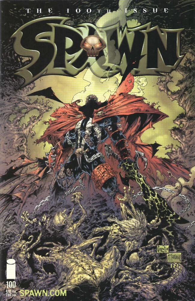 Couverture de Spawn (1992) -100GC- Milestone
