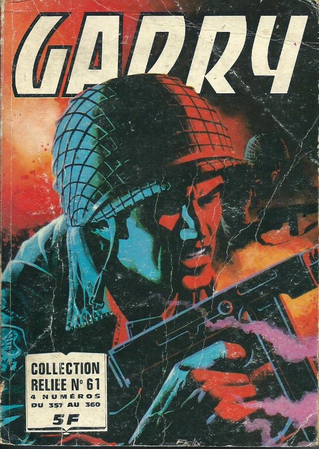 Couverture de Garry (Impéria) (2e série - 190 à 456) -Rec61- Collection Reliée N°61 (du n°357 au n°360)