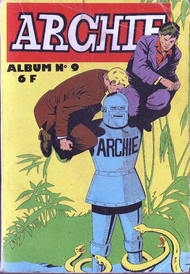 Couverture de Archie (Jeunesse et Vacances) -Rec09- Album N°9 (du n°26 au n°28)
