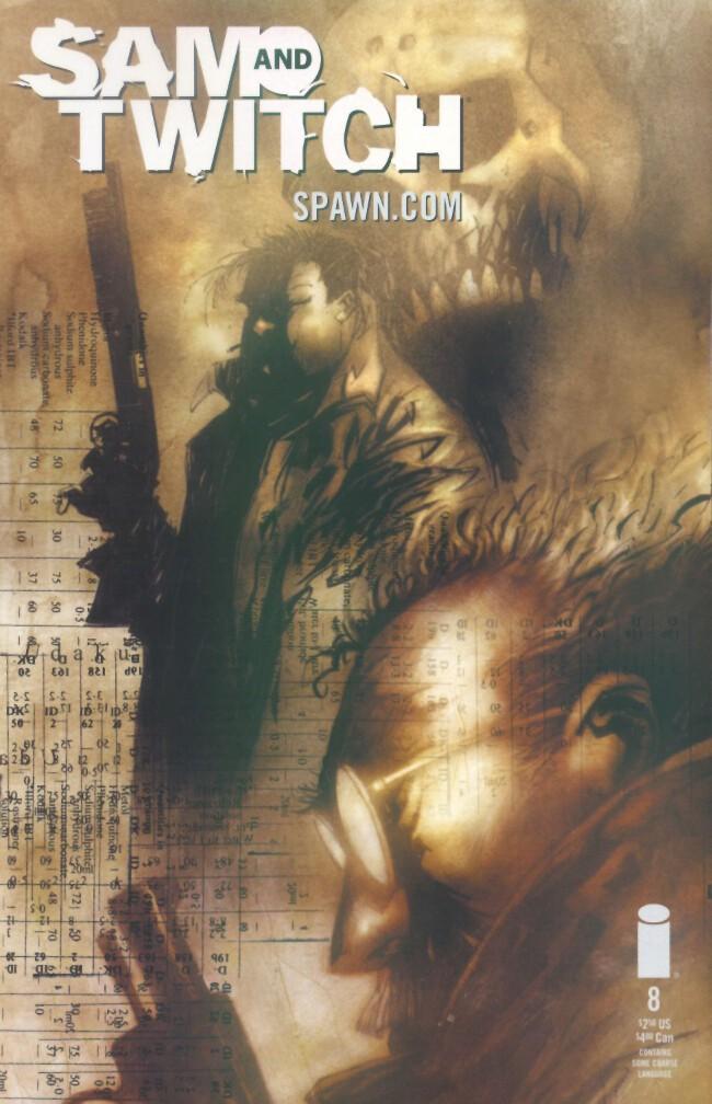 Couverture de Sam and Twitch (1999) -8- Udaku, part eight