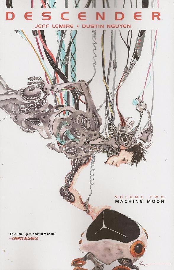Couverture de Descender (Image comics - 2015) -INT02- Volume Two - Machine Moon