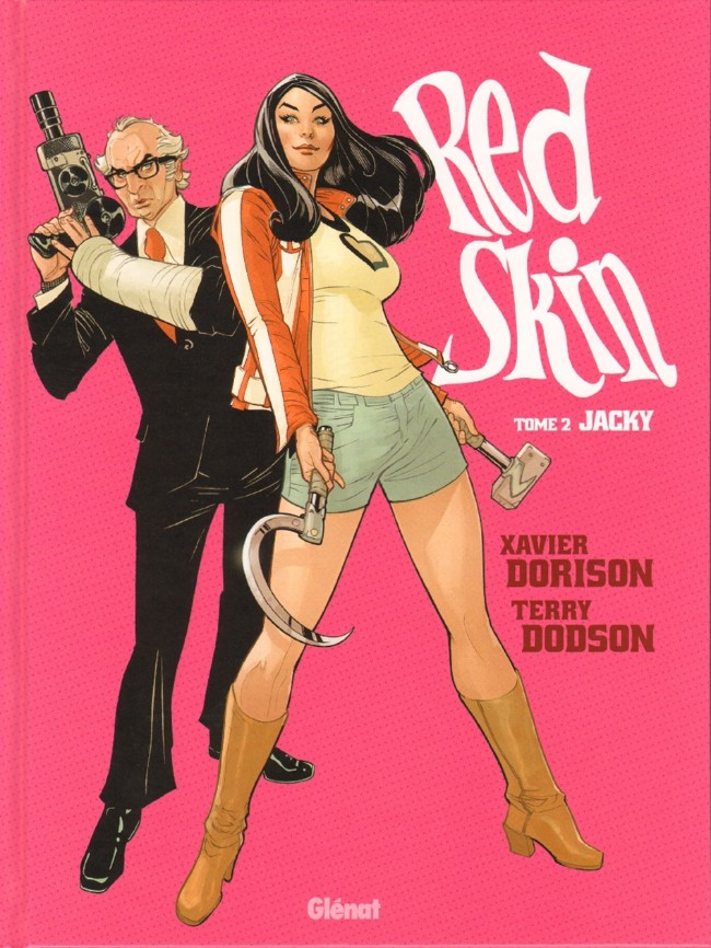 Couverture de Red Skin -2- Jacky