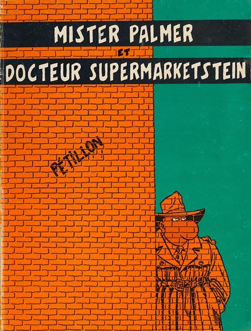 Couverture de Jack Palmer -2- Mister Palmer et Docteur Supermarketstein