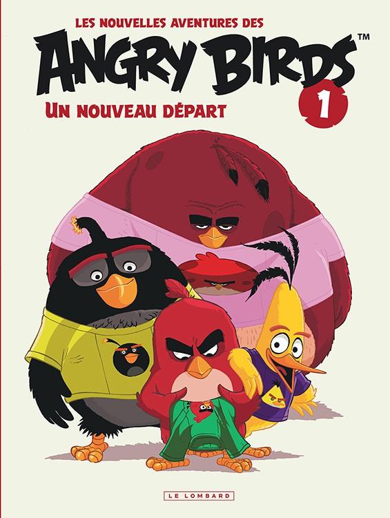 Couverture de Angry Birds (Les Nouvelles Aventures des) -1- Un nouveau départ