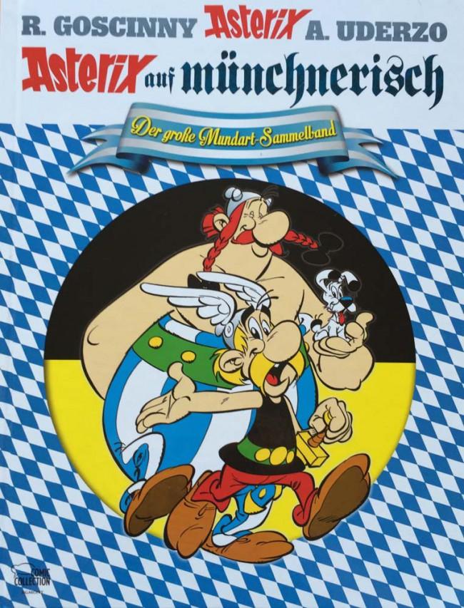 Couverture de Astérix (en langues étrangères) -Munch- Le combat des chefs / Astérix et le chaudron