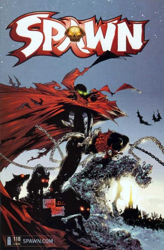 Couverture de Spawn (1992) -110- The Kingdom, Part IV