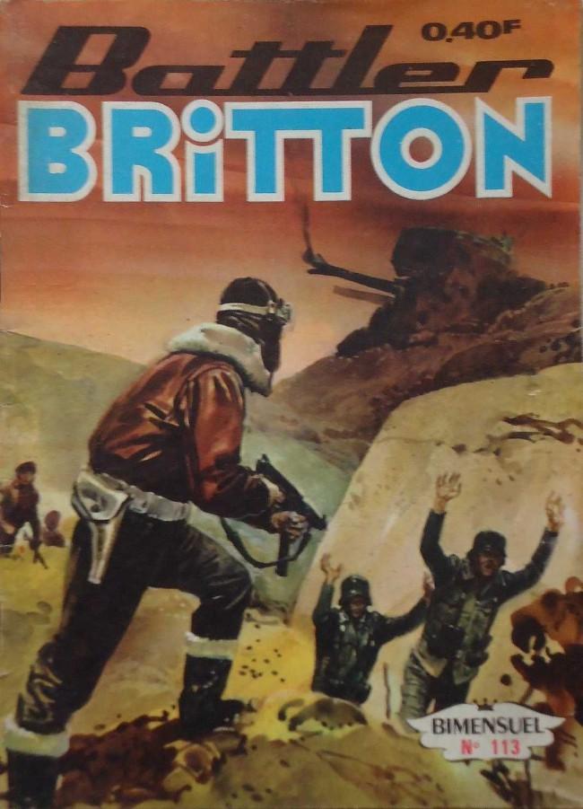 Couverture de Battler Britton (Imperia) -113- Operation Taxi