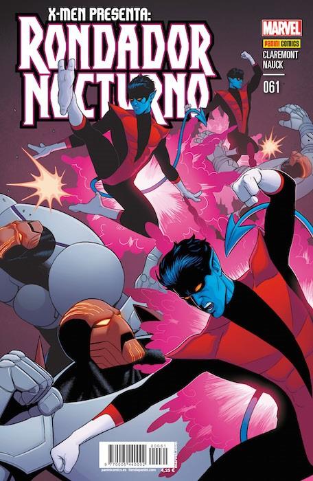 Couverture de X-Men v4 -61- X-Men Presenta: Rondador Nocturno